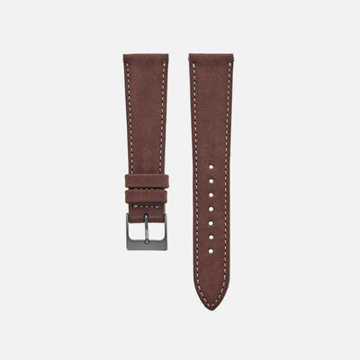 The Bedford Watch Strap In Chestnut Brown