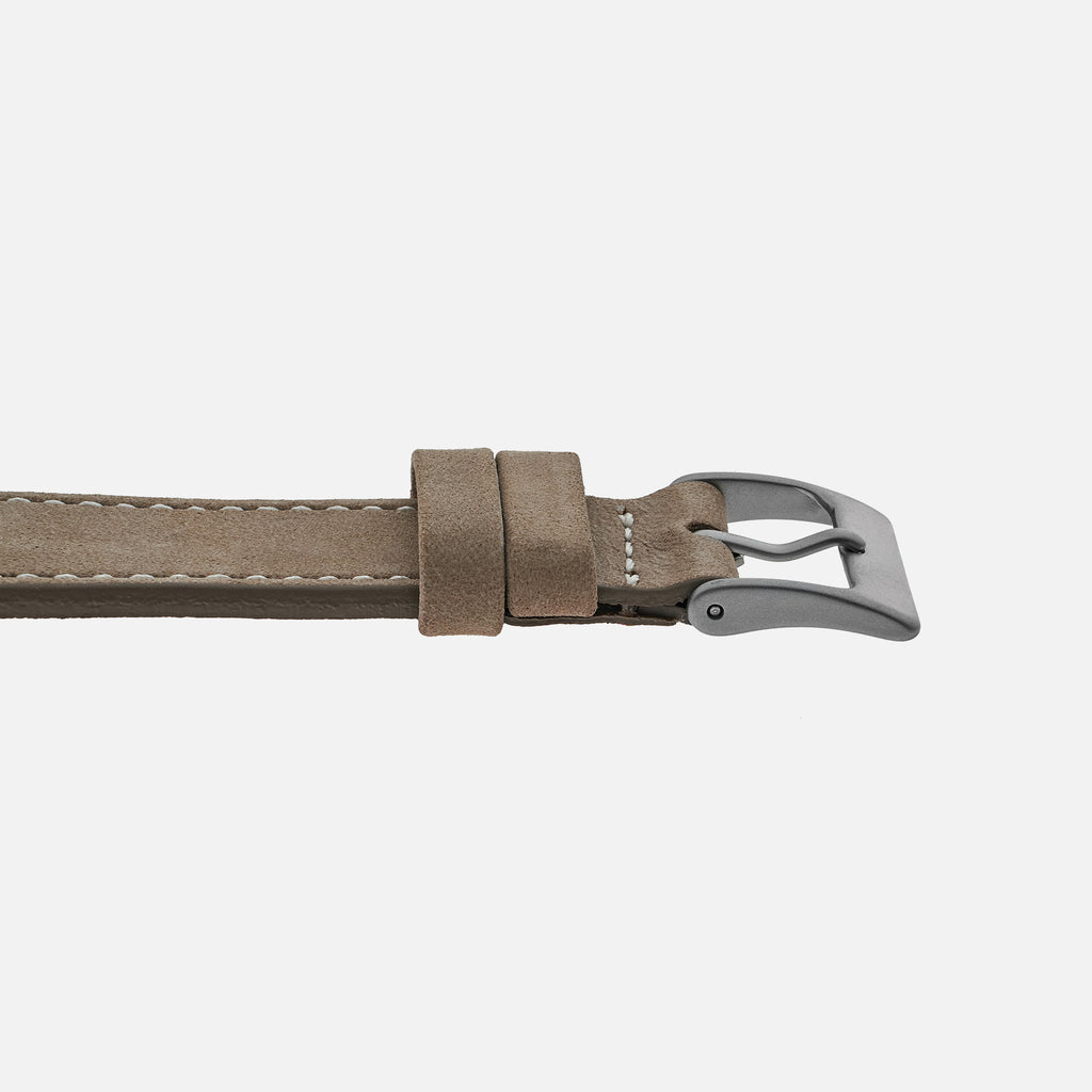 The Bedford Watch Strap In Light Grey