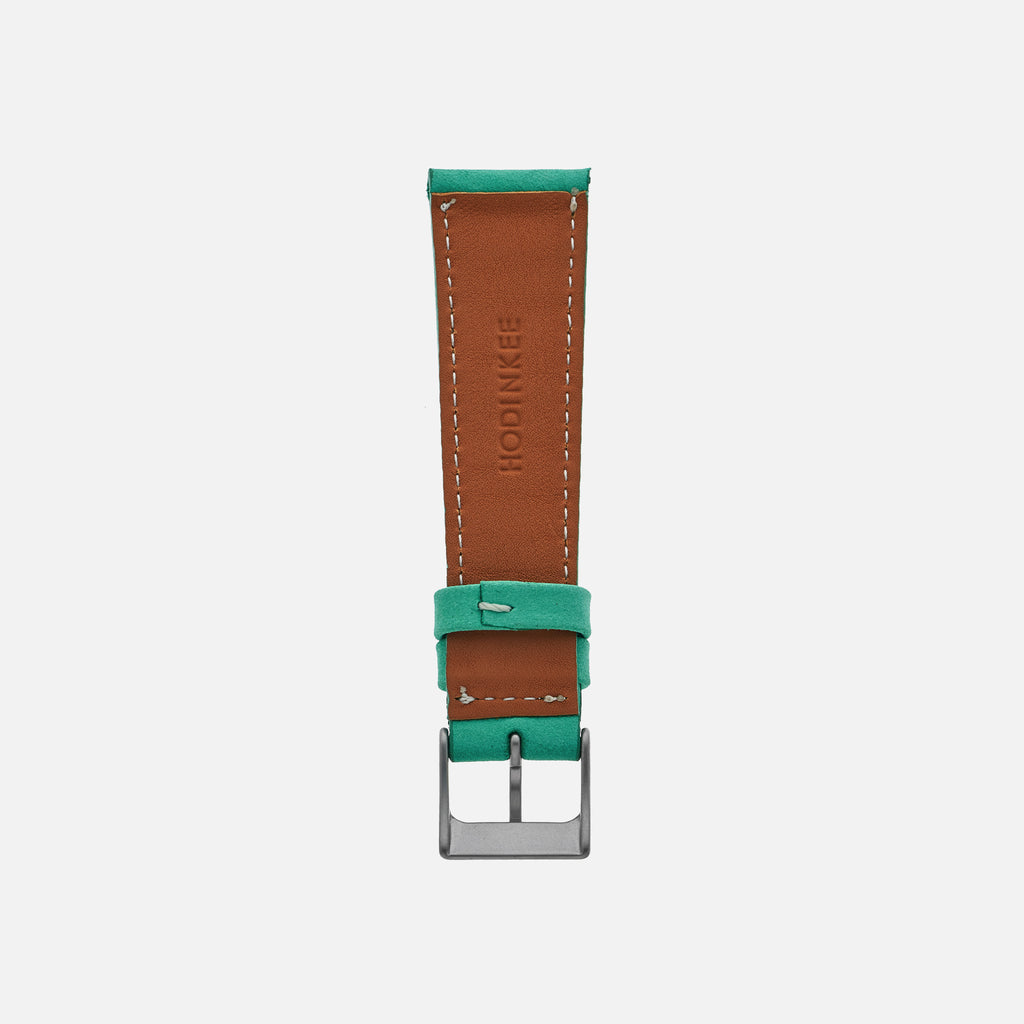 The Bedford Watch Strap In Mint Green