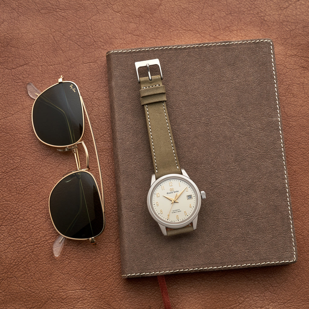The Bedford Watch Strap In Olive Green