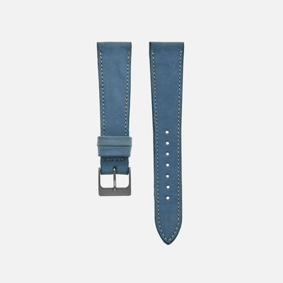 The Bedford Watch Strap In Sky Blue