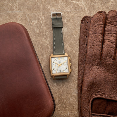 The Bedford Watch Strap In Slate Grey alternate image.