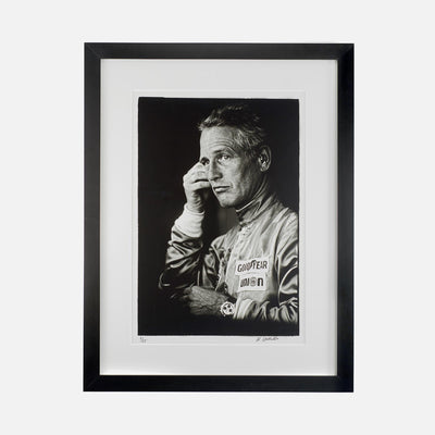 Limited Edition Paul Newman At Sebring Archival Print, Signed And Numbered
