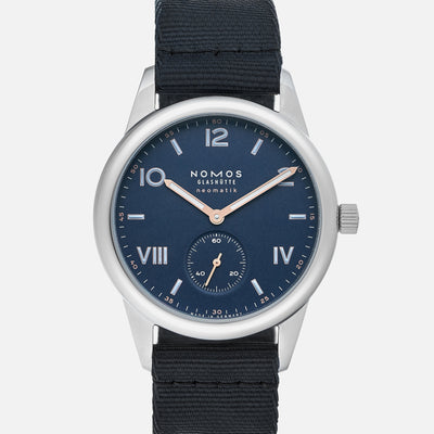 NOMOS Glashütte Club Campus Neomatik 39 Midnight Blue