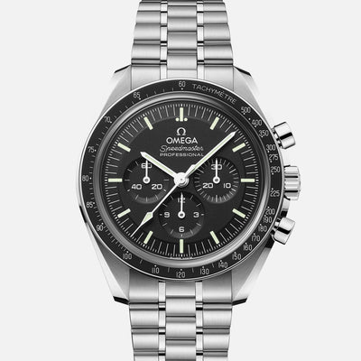 OMEGA Speedmaster Moonwatch Professional Co-Axial Master Chronometer Chronograph 42mm Sapphire Crystal On Bracelet With Caliber 3861