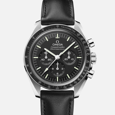 OMEGA Speedmaster Moonwatch Professional Co-Axial Master Chronometer Chronograph 42mm Sapphire Crystal On Strap With Caliber 3861