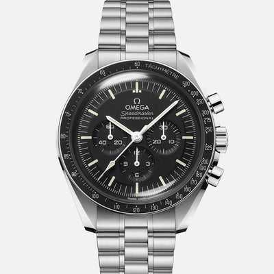 OMEGA Speedmaster Moonwatch Professional Co-Axial Master Chronometer Chronograph 42mm Hesalite Crystal On Bracelet With Caliber 3861