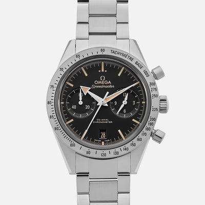 OMEGA Speedmaster '57 Co-Axial Chronograph 41.5mm Black Dial On Bracelet