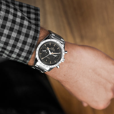 OMEGA Speedmaster '57 Co-Axial Chronograph 41.5mm Black Dial On Bracelet alternate image.