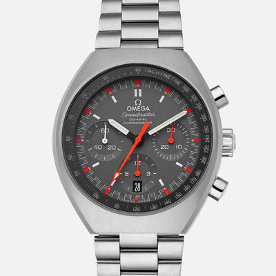 OMEGA Speedmaster Mark II Co-Axial Chronograph 42.4mm Grey Dial On Bracelet