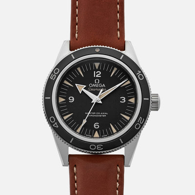 Omega Seamaster 300 Master Co-Axial 41mm Black Dial On Strap