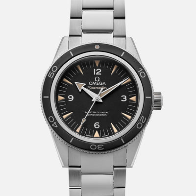 Omega Seamaster 300 Master Co-Axial 41mm Black Dial On Bracelet