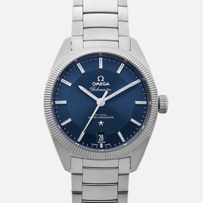 OMEGA Constellation Globemaster Co-Axial Master Chronometer 39mm Blue Dial
