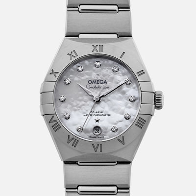 Omega Constellation Co-Axial Master Chronometer 29mm Stainless Steel With Diamonds