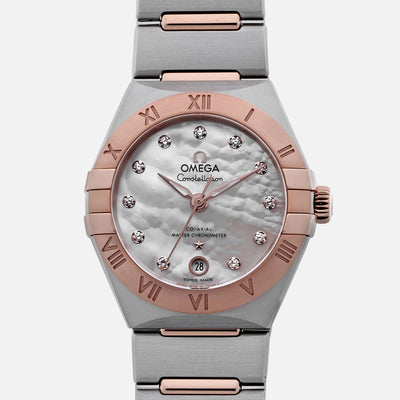 Omega Constellation Co-Axial Master Chronometer 29mm Two-Tone With Diamonds