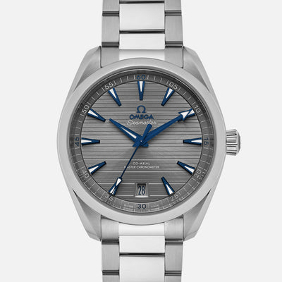 OMEGA Seamaster Aqua Terra 150M Co-Axial Master Chronometer 41mm Grey Dial On Bracelet