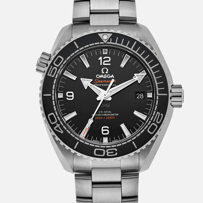 OMEGA Seamaster Planet Ocean 600M Co-Axial Master Chronometer 43.5mm Black Dial On Bracelet