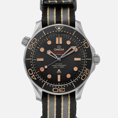 OMEGA Seamaster Diver 300M Co-Axial Master Chronometer 42mm Titanium 007 Edition