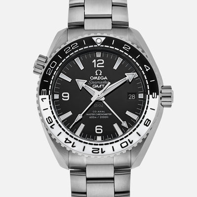 OMEGA Seamaster Planet Ocean 600M Co-Axial Master Chronometer GMT 43.5mm On Bracelet