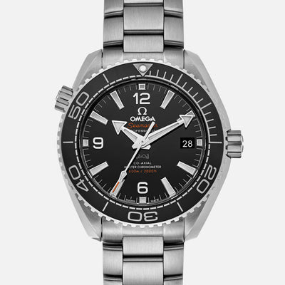 OMEGA Seamaster Planet Ocean 600M Co-Axial Master Chronometer 39.5mm Black Dial On Bracelet