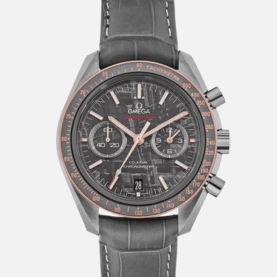 OMEGA Speedmaster Moonwatch Co-Axial Chronograph 44.25mm 'Grey Side Of The Moon' With Meteorite Dial