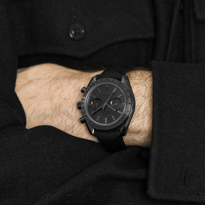 OMEGA Speedmaster Moonwatch Co-Axial Chronograph 44.25mm 'Dark Side Of The Moon' Black Black alternate image.