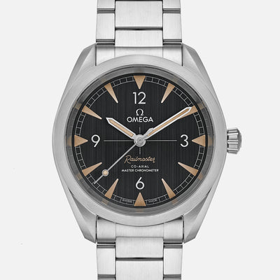 OMEGA Seamaster Railmaster Co‑Axial Master Chronometer 40mm