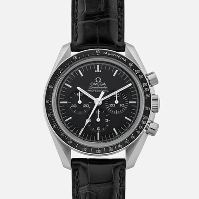 Omega Speedmaster Moonwatch Professional Chronograph 42mm Sapphire Crystal On Strap