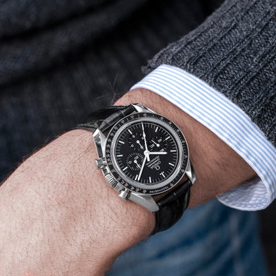 Omega Speedmaster Moonwatch Professional Chronograph 42mm Sapphire Crystal On Strap alternate image.