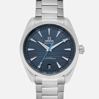OMEGA Seamaster Aqua Terra 150M Co-Axial Master Chronometer 41mm Light Blue Dial On Bracelet