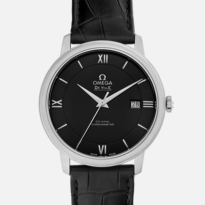 OMEGA De Ville Prestige Co-Axial 39.5mm Black Dial