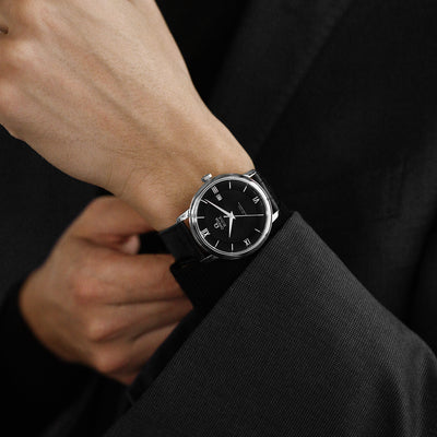 OMEGA De Ville Prestige Co-Axial 39.5mm Black Dial alternate image.