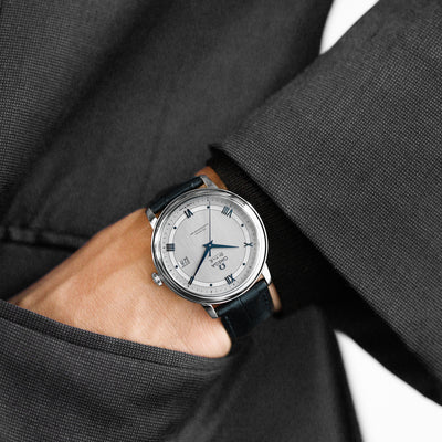 OMEGA De Ville Prestige Co-Axial 39.5mm Grey Dial On Strap alternate image.