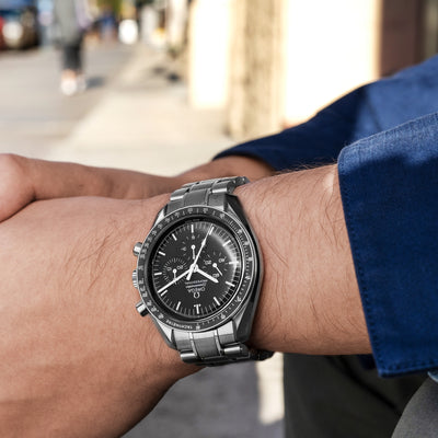 OMEGA Speedmaster Moonwatch Professional Chronograph 42mm Sapphire Crystal On Bracelet alternate image.