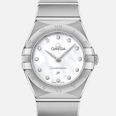 OMEGA Constellation Quartz 25mm Mother-Of-Pearl Dial With Diamonds