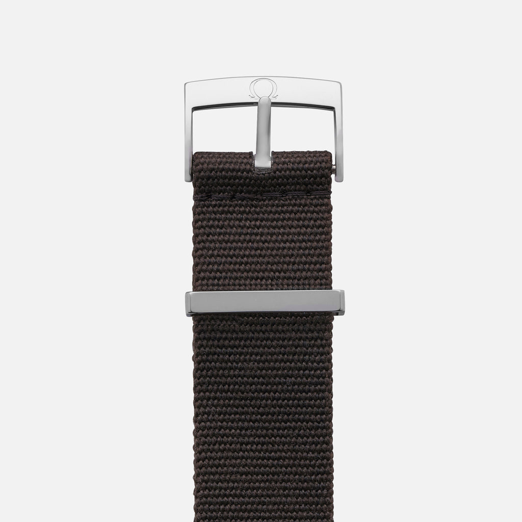 OMEGA NATO Strap In Dark Brown