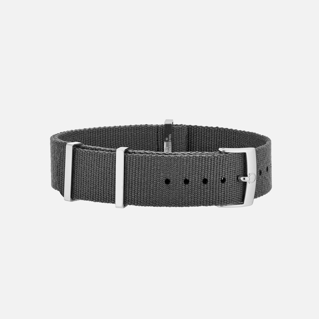 OMEGA Nylon Strap In Grey