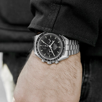 OMEGA Speedmaster Moonwatch Professional Co-Axial Master Chronometer Chronograph 42mm Sapphire Crystal On Bracelet With Caliber 3861 alternate image.