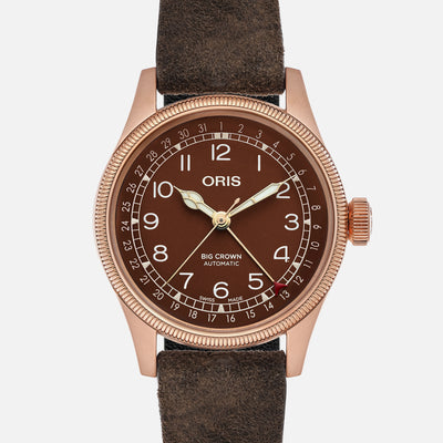 Oris Big Crown Pointer Date Bronze Dial