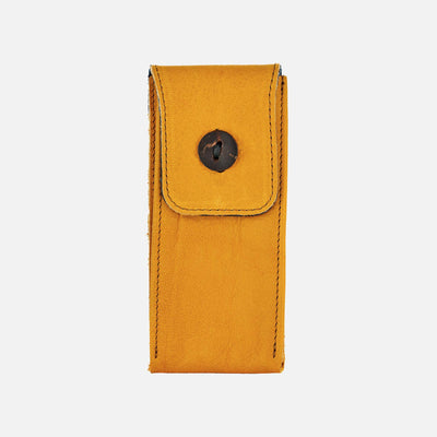 Soft Leather Watch Pouch