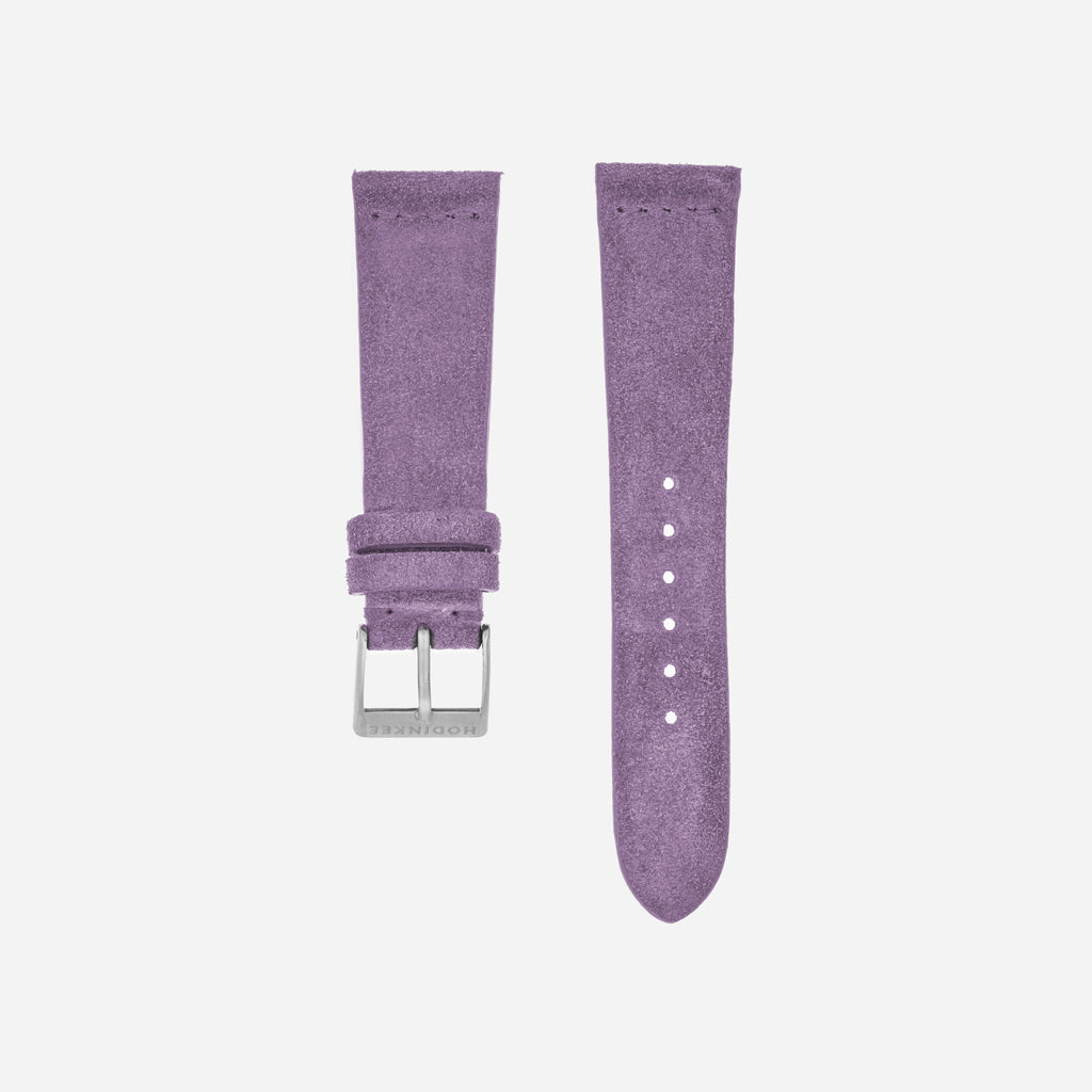 Lilac Suede Watch Strap