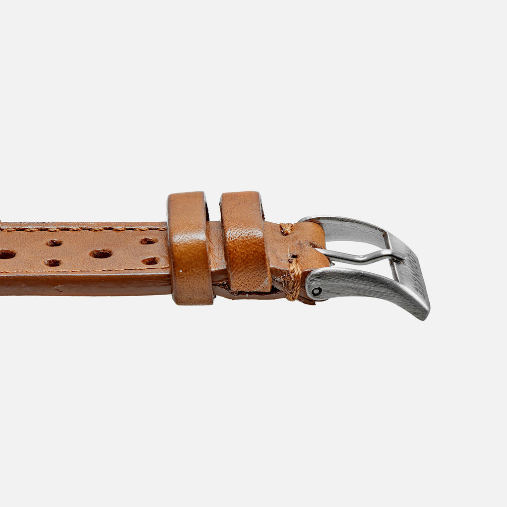 00d905caab8 Light Brown Leather Racing Watch Strap - HODINKEE Shop
