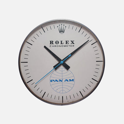 Rolex Wall Chronometer With Pan-Am Logo