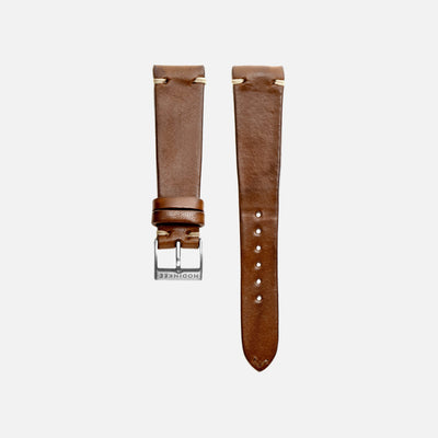 Honey Leather Watch Strap