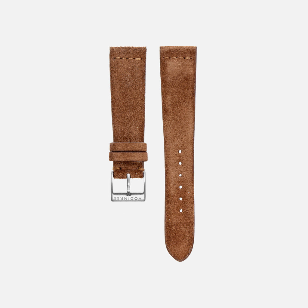 Brown Suede Watch Strap