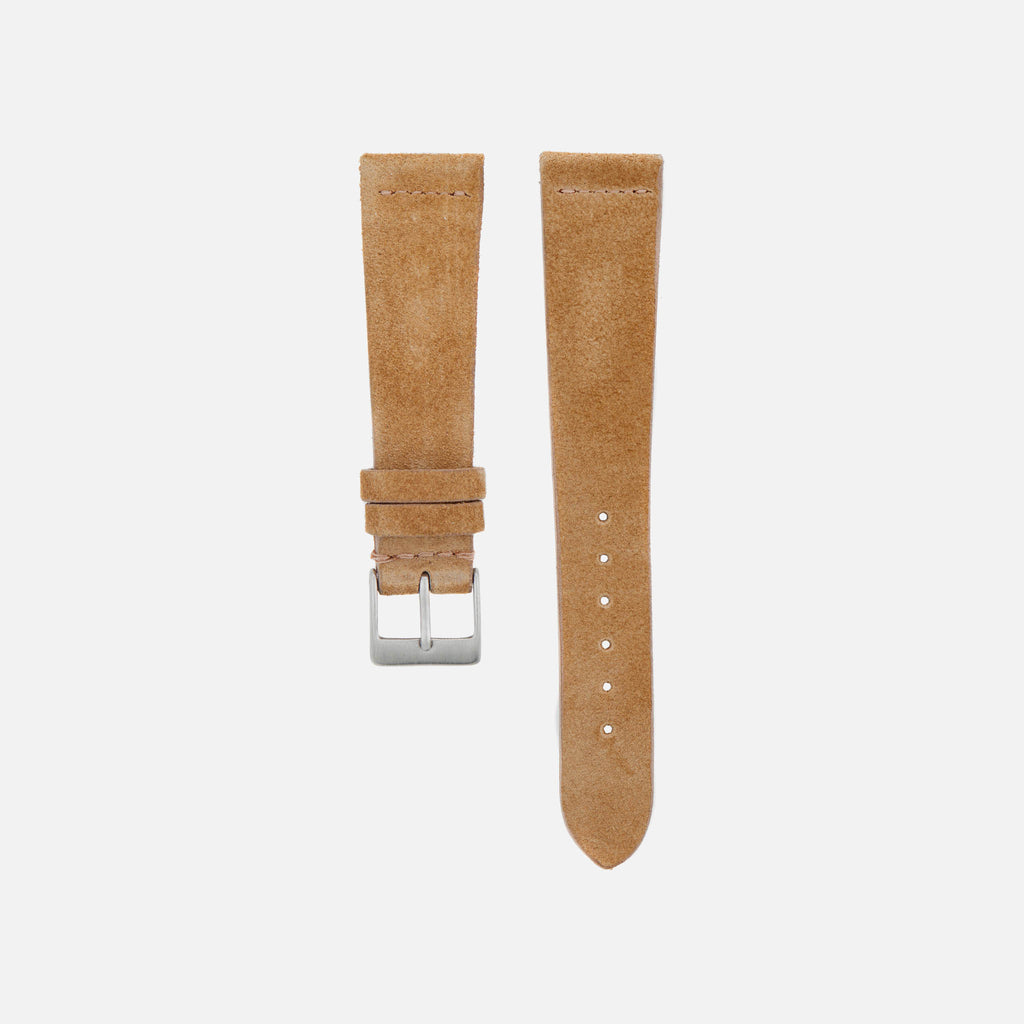 Beige Suede Watch Strap