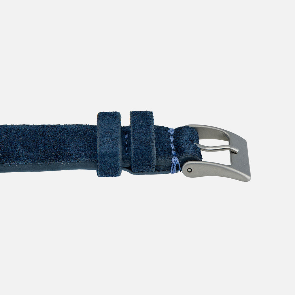 Blue Suede Watch Strap