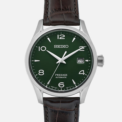 Seiko Presage SPB111 Limited Edition With Green Enamel Dial