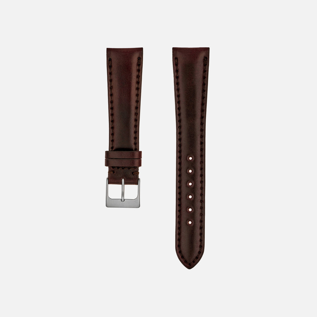 Lined Color No. 8 Shell Cordovan Watch Strap