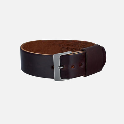Color No. 8 Single-Piece Shell Cordovan Watch Strap